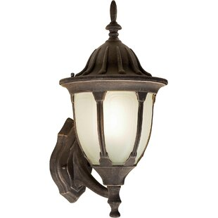 Best Reviews Lopez 1-Light Outdoor Sconce By Astoria Grand
