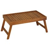Cerritos Bed Tray Table in Solid Teak Wood by Union Rustic