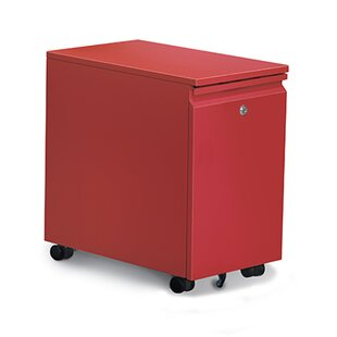 Storage 2-Drawer Mobile Vertical Filing Cabinet