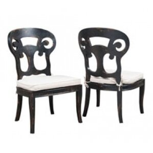 Emerson Club Side Chair (Set of 2) by One Allium Way