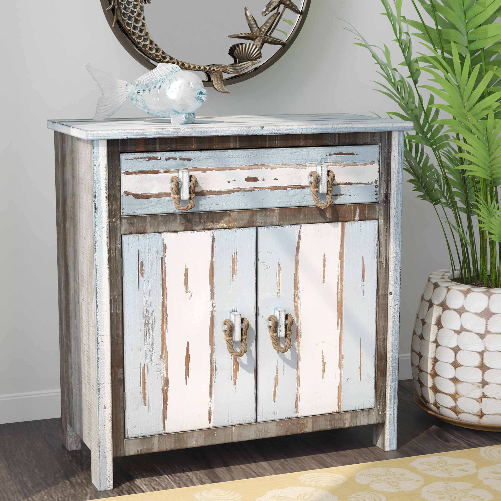 Beachcrest Home Hallowell 2 Doors Accent Cabinet U0026 Reviews | Wayfair