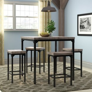 Wegner 5 Piece Counter Height Dining Set by Gracie Oaks Best #1