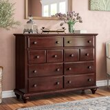 Jarvis 8 Drawer Dresser by Alcott Hill®