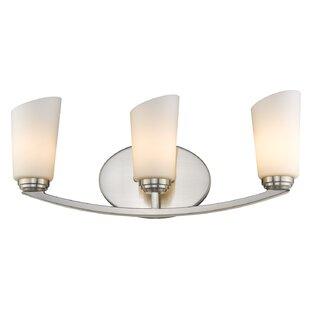 Best Price Dorset 3-Light Vanity Light By Wildon Home ®