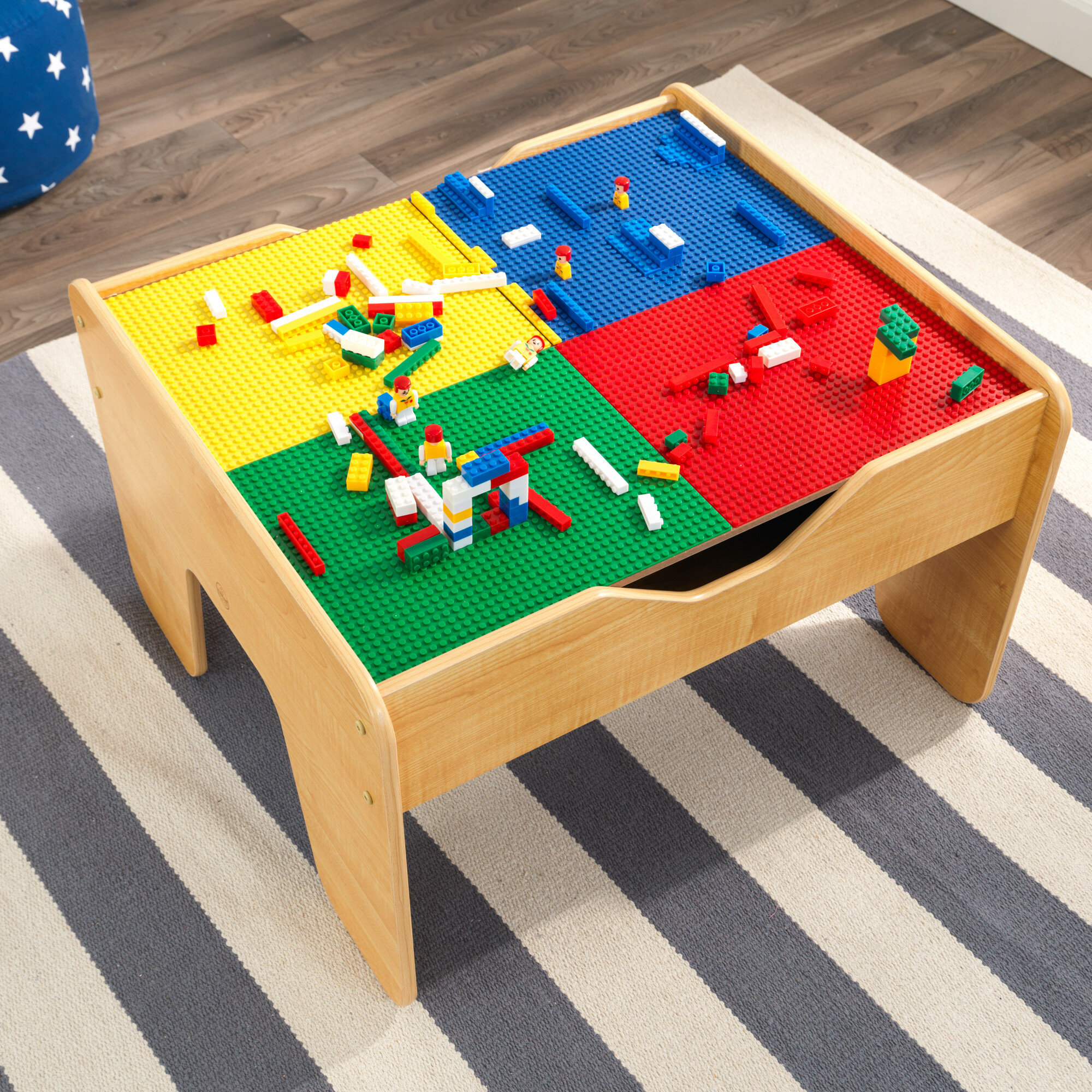 Awesome Kids Activity Train Table Wayfair Interior Design Ideas Apansoteloinfo