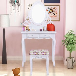 Charlton Home Armando Vanity Set with Mirror