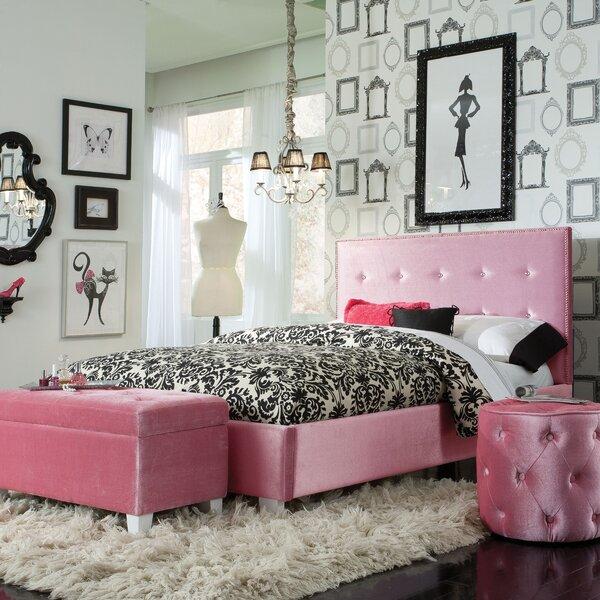 pink bedroom sets.  Viv Rae Blair Panel Configurable Bedroom Set Reviews Wayfair