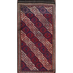 Price comparison Colegrove Kazak Caucasian Antique Russian Traditional Oriental Hand-Knotted Wool Red/Black/Blue Area Rug ByBloomsbury Market