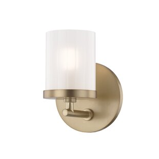 Woodlake 1-Light Bath Sconce b..