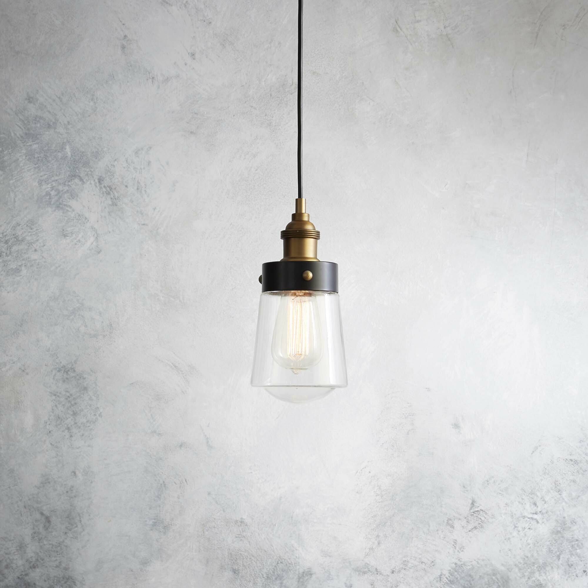 gather glass shade collection lighting etched with light mini pendant black progress