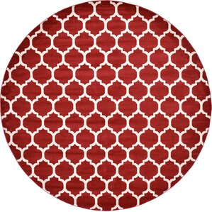 Moore Red Area Rug