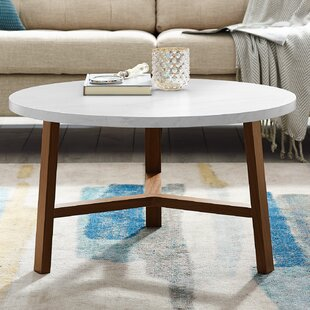 Josiah Round Coffee Table Ebern Designs