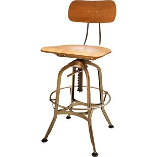 Toledo Adjustable Height Swivel Bar Stool by Restaurant Products Guild
