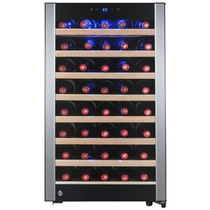 52 Bottle Single Zone Convertible Wine Cooler by AKDY