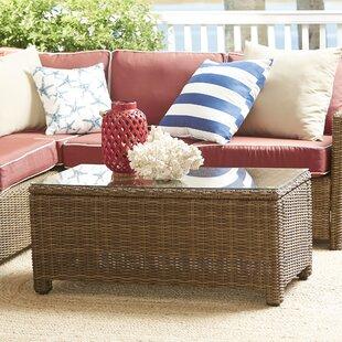 Birch Lane™ Lawson Wicker Rectangular Coffee Table