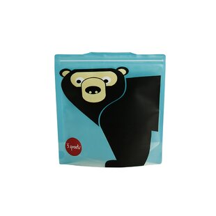 3 Sprouts Bear Sandwich Bag (Set of 2)