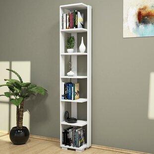 Gatto Modern Corner Bookcase by Ebern Designs