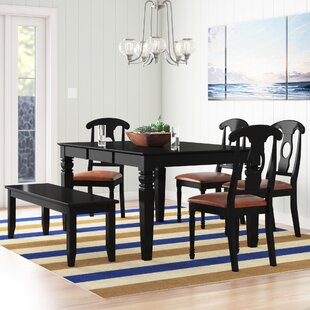 Pennington 6 Piece Wood Dining Set by Bea..