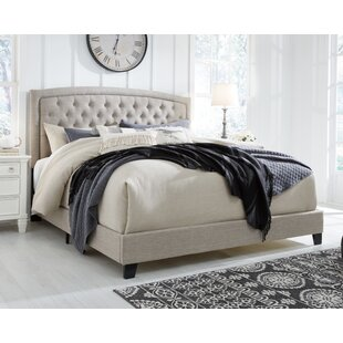 Macclesfield Tufted Upholstered Low Profile Standard Bed