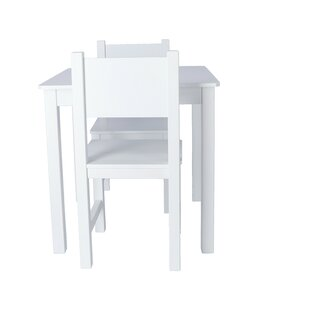 Hay Children's 3 Piece Table And Chair Set By Harriet Bee