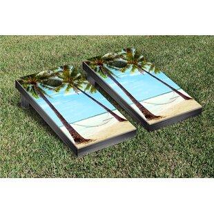 Victory Tailgate Hammock On The Beach Cornhole Game Set