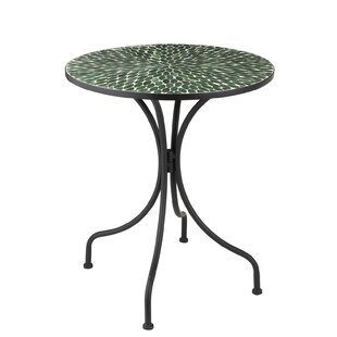 Adriano Wrought Iron Bistro Table By Rosalind Wheeler