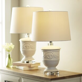 Affordable Baisden 23.5 Table Lamp (Set of 2) By World Menagerie