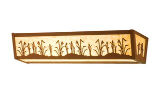 Meyda Tiffany Cattails 4-Light Bath Bar