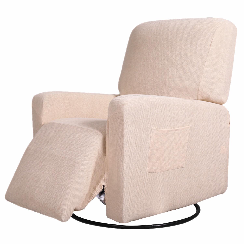 Winston Porter Aaliyah Box Cushion Recliner Slipcover Reviews Wayfair