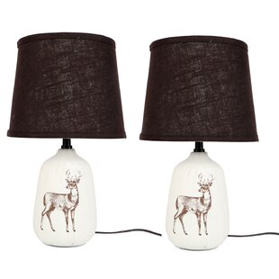 Deer Illustration 17 Table Lamp (Set of 2)