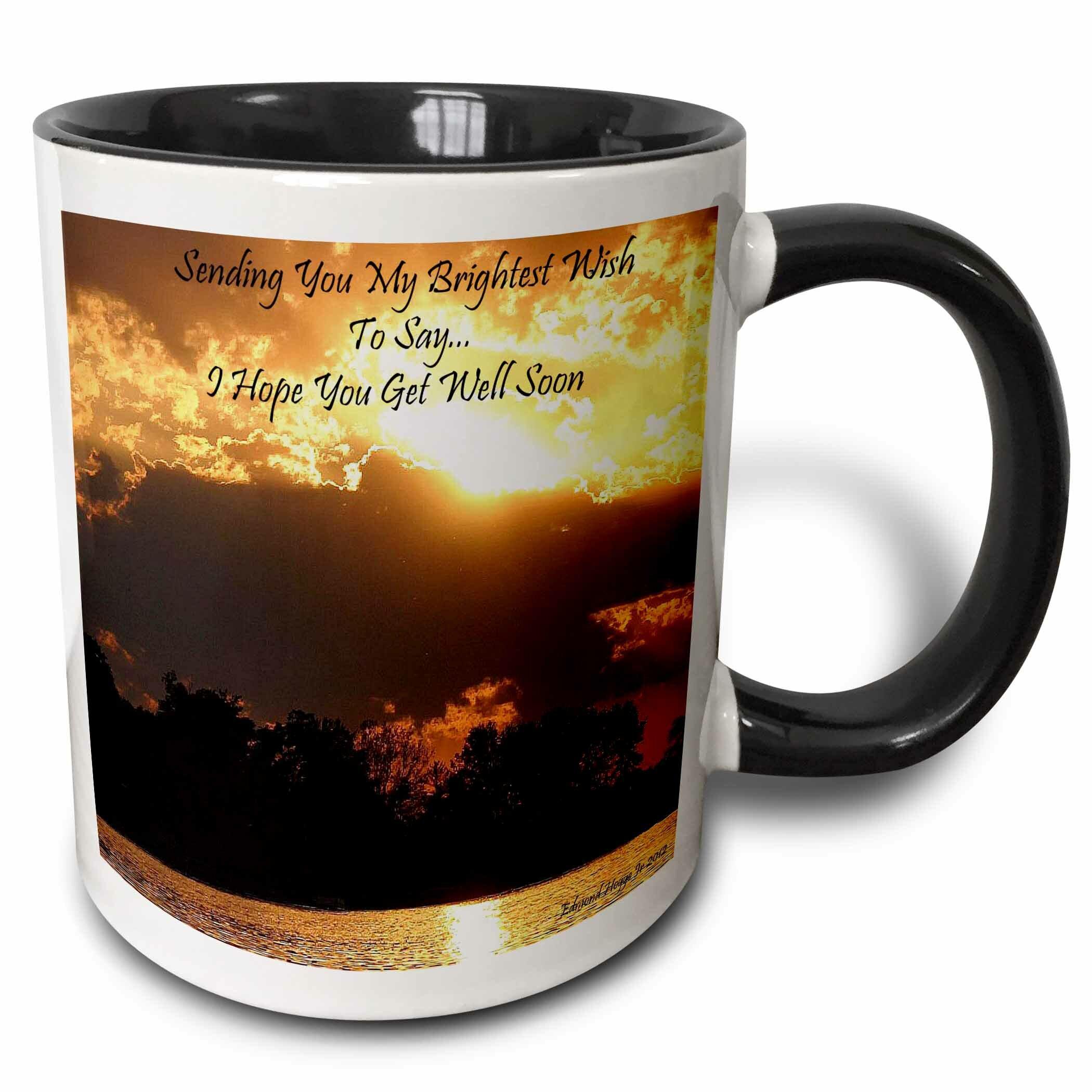 East Urban Home En Sunset Get Well Soon Coffee Mug Wayfair
