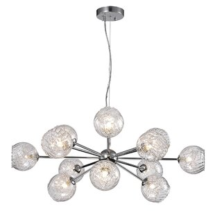 Orren Ellis Earleville 12-Light Sputnik Chandelier