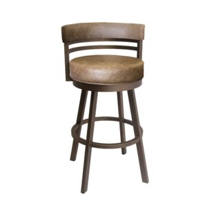 Read Reviews Rinker 26 Swivel Bar Stool by Williston Forge Reviews (2019) & Buyer's Guide