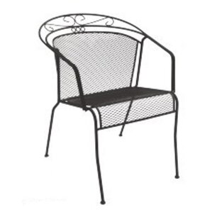 Perfect Charleston Low Back Patio Dining Chair