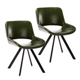 Morgane Upholstered Dining Chair (Set of 2) by Ivy Bronx