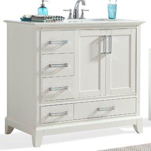Elise 37 Single Bathroom Vanity Set by Simpli Home