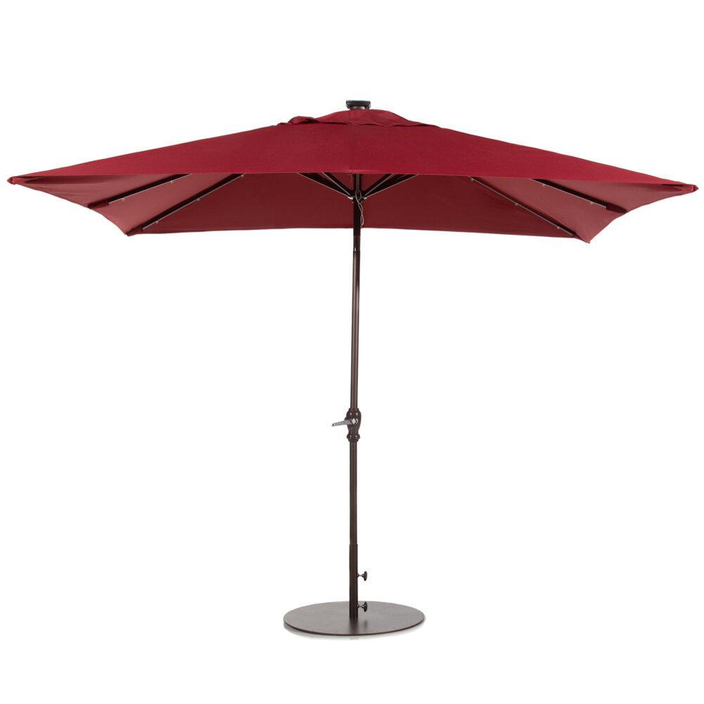 Abba Patio 7 X 9 Rectangular Lighted Umbrella Reviews