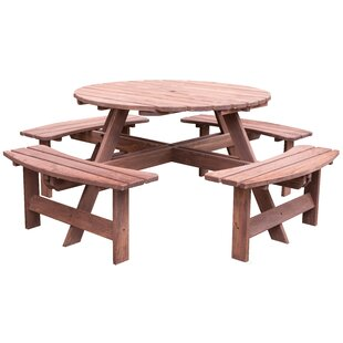 Samara Outdoor Wooden Picnic Table