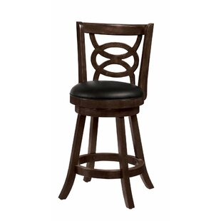 Sunderhaus Swivel Bar Stool (Set of 2) by Red Barrel Studio
