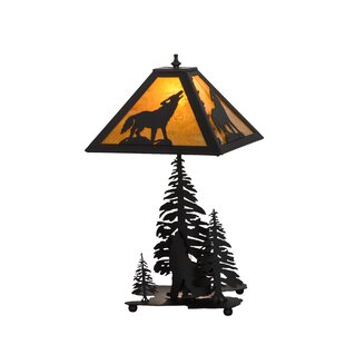 Howling Wolf 21 Table Lamp