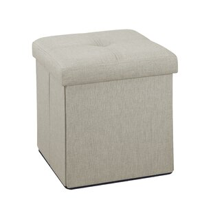 Affordable Tindall Storage Ottoman By Andover Mills