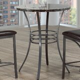Hoskin Marble Top Dining Table by Winston Porter