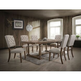 Denita 7 Pieces Dining Set Gracie Oaks