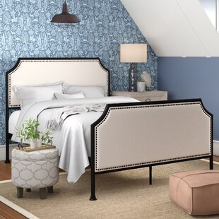 Laurel Foundry Modern Farmhouse Brandy Queen Upholstered Panel Bed