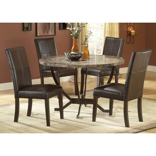 Waltonville 5 Piece Dining Set Red Barrel Studio