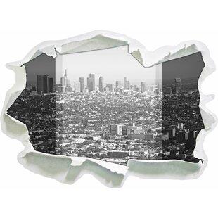 Los Angeles Metropolitan Area Wall Sticker By East Urban Home