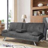 Akria Corduroy 66.2 Round Arm Sofa by Ebern Designs
