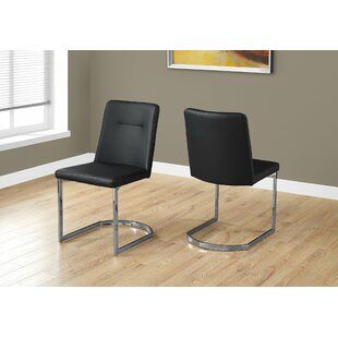 Darcelle Upholstered Dining Chair (Set of 2) Latitude Run