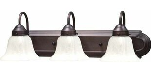 Shop for Minster 3-Light Vanity Light By Volume Lighting