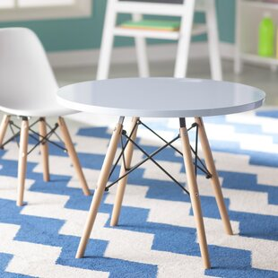 Hershman Kids Round Writing Table by Mack & Milo
